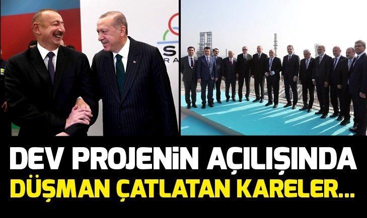 Başkan Erdoğan ile Aliyev dev yatırım Star Rafinerisi'ni inceledi