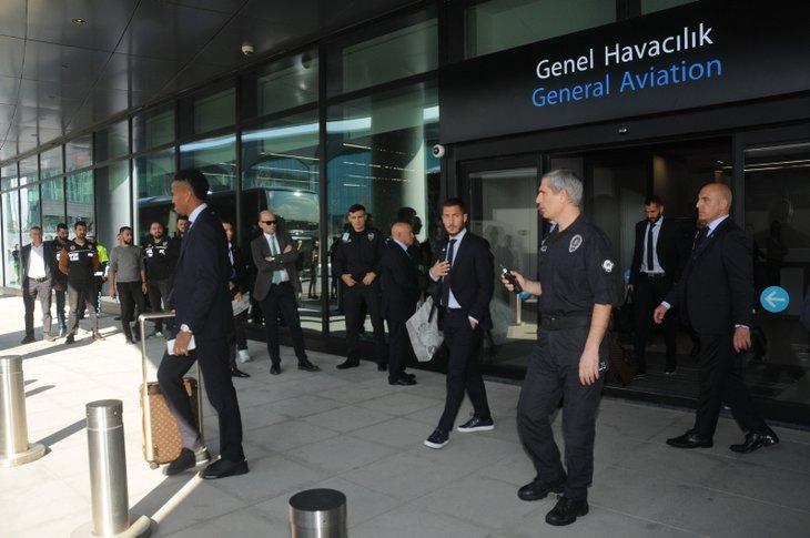 Real Madrid Galatasaray maçı için İstanbul'da