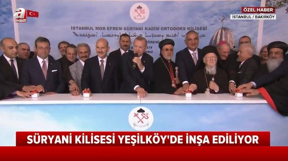 Cumhuriyet tarihinin ilk kilisesi İstanbul'da açılıyor