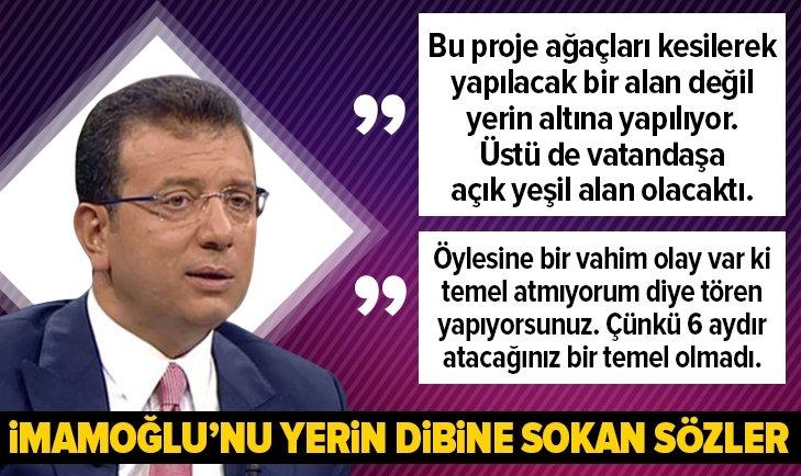 Mehmet Tevfik Göksu, Ekrem İmamoğlu'nu yerin dibine soktu | İmamoğlu'nun yalanlarını tek tek açıkladı