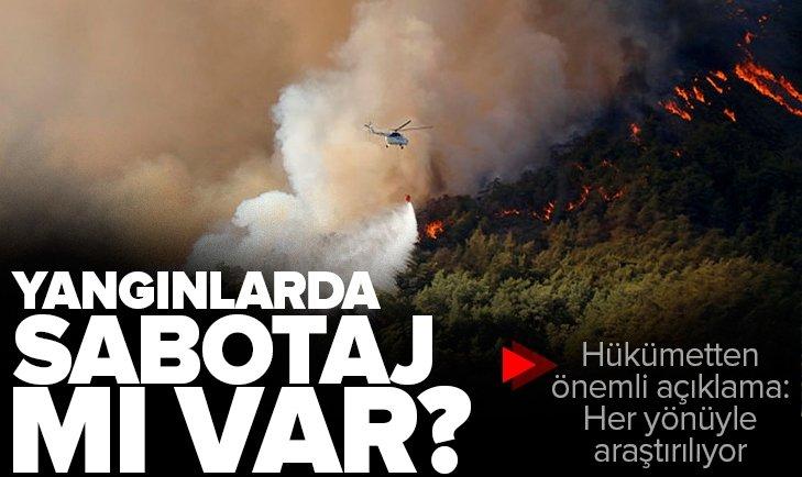 Adalet Bakanı Abdulhamit Gül'den İç Anadolu Akdeniz ve Ege'deki orman yangınlarına ilişkin flaş açıklama