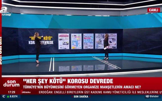 'Her şey kötü' korosu yine devrede! Türkiye'nin büyümesini neden görmüyorlar? Dilek Güngör A Haber'de anlattı