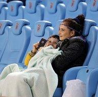Trabzonspor - Konyaspor maçından ilginç kareler