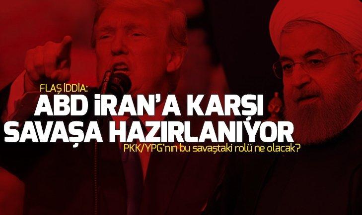FLAŞ İDDİA: ABD İRAN'A KARŞI SAVAŞA HAZIRLANIYOR!