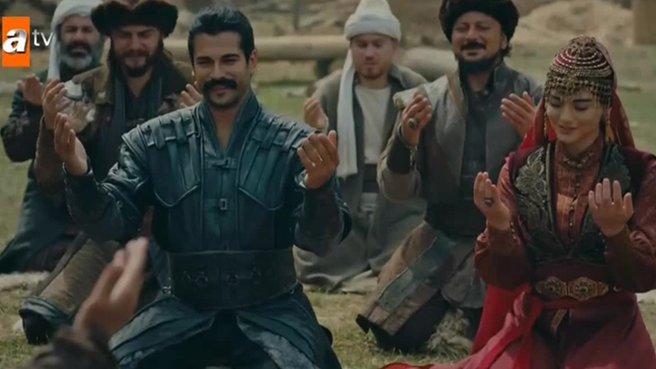Kuruluş Osman 22. bölümde Osman Bey ile Bala Hatun evleniyor | VİDEO