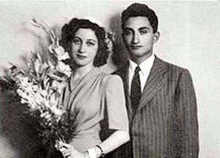 Rahşan Ecevit ve Bülent Ecevit'in yıllar önceki fotoğafları