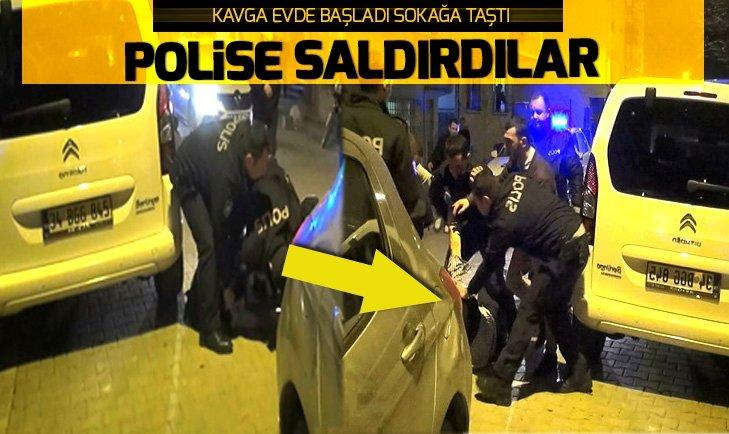 KAVGA EDEN GRUP POLİSE SALDIRDI!