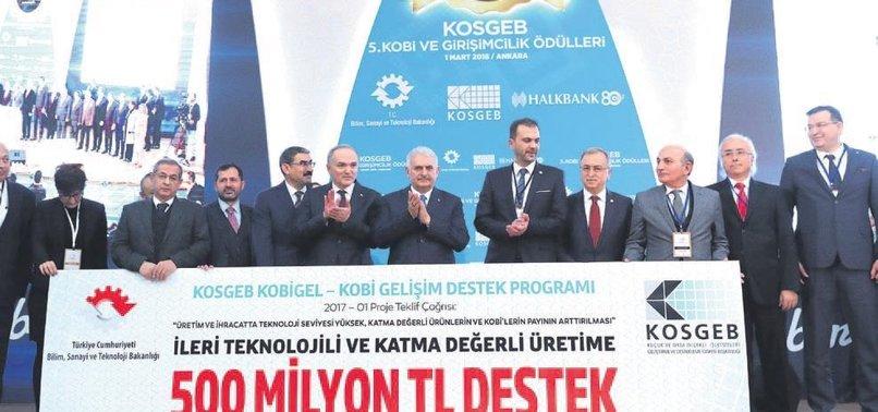 KOBİ'LERE ÜST SINIR MÜJDESİ