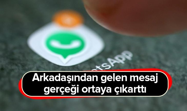 WHATSAPP MESAJI TÜRKİYE'Yİ SALLADI!