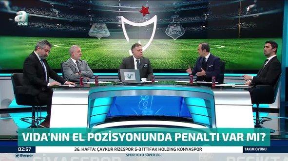 Sivasspor Beşiktaş maçında penaltı itirazı!
