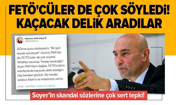 AK PARTİLİ KAYA'DAN CHP'Lİ TUNÇ SOYER'İN SERT TEPKİ!