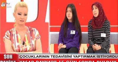 15 gün sonra Müge Anlı'da bulunan Yaşar Bayka ve ailesine yardım yağdı