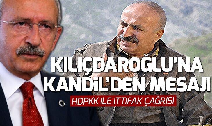 Terör örgütü PKKdan CHPye ittifak çağrısı!