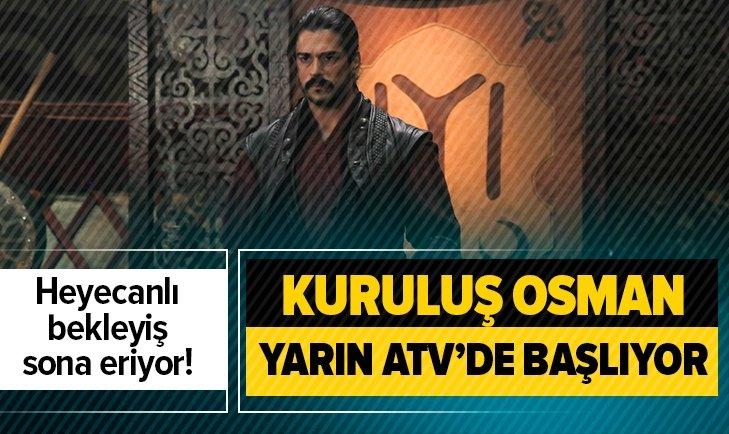 KURULUŞ OSMAN HEYECANI ATV'DE BAŞLIYOR