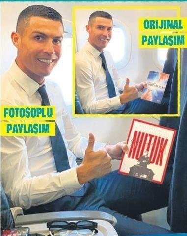 İBB'nin Cristiano Ronaldo paylaşımına tepki yağdı! Hizmet yok goygoy çok