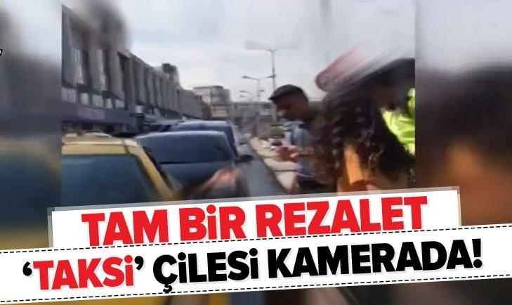 ESENLER'DEKİ 'TAKSİ' ÇİLESİ KAMERADA