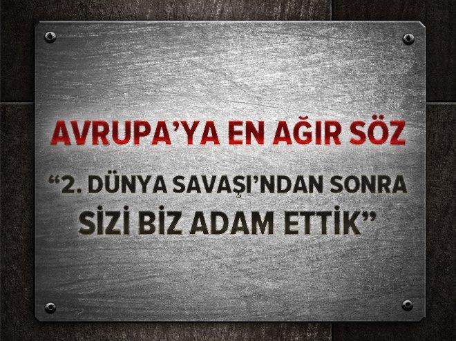 TRUMP'IN ELÇİSİNDEN AB'YE EN AĞIR SÖZ!