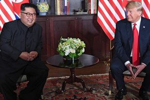 Kuzey Kore'den ABD'ye füze denemesi mesajı