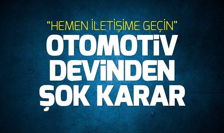 VOLVO 200 BİN OTOMOBİLİ GERİ ÇAĞIRDI