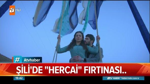 Şili'de 'Hercai' salıncağı kuruldu