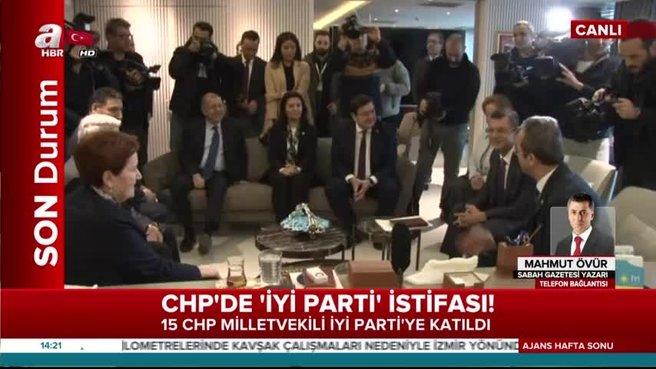15 CHP'li vekil İyi Parti'ye geçti
