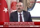 Ceza infaz düzenlemesiyle ilgili son dakika gelişmesi! Adalet Bakanı Abdulhamit Gül A Haber canlı yayınında açıkladı |Video