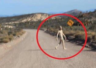 Korkutan görüntü! ABD yaratıkları yerin altında mı saklıyor?