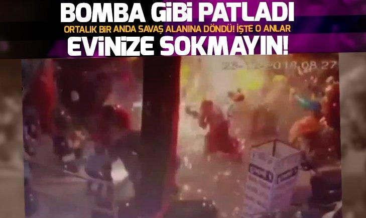 UÇAN BALONLAR BOMBA GİBİ PATLADI!