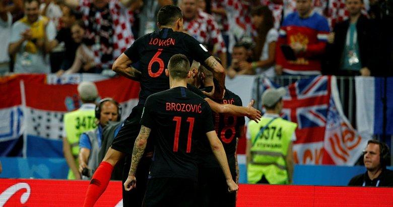 Hırvatistan - İngiltere maç sonucu! Hırvatistan tarih yazdı