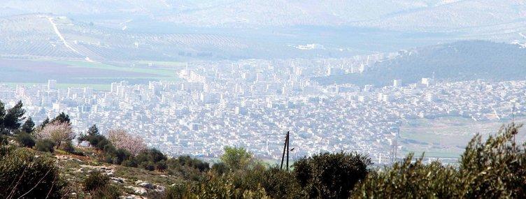TÜRK ASKERİ AFRİN'İN TEPELERİNDE