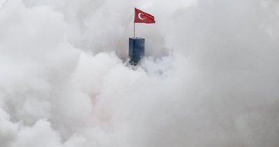 Türkiye Uzay Ajansı Sizce bu ne olabilir? paylaşımıyla merak uyandırdı! Bakan Mustafa Varank yanıtladı: Yine yangınlar yine ben