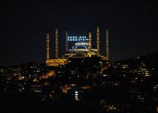 Büyük Çamlıca Camisi'nden 'Evde Kal Türkiyem' çağrısı