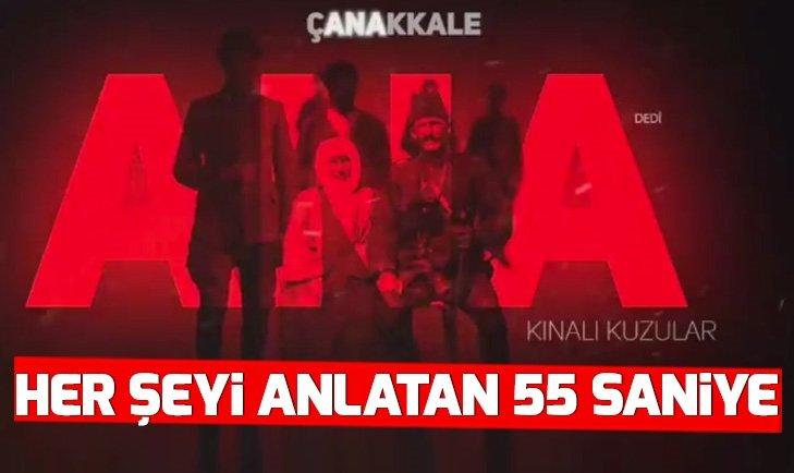 Cumhurbaşkanlığı İletişim Başkanı Fahrettin Altun paylaştı: Dirilişten kurtuluşa bir duruştur Çanakkale