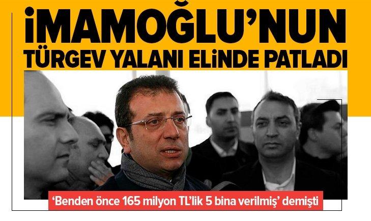 İmamoğlu'nun TÜRGEV yalanı elinde patladı!