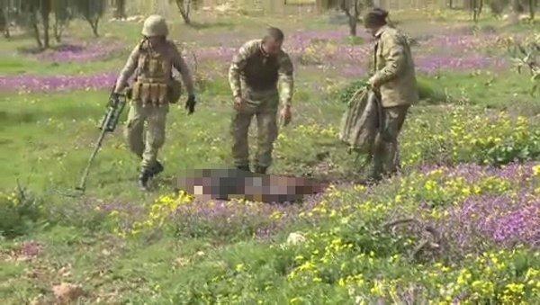 AFRİN'DE PKK'NIN MAYININA BASAN SİVİLE TSK YARDIM ETTİ