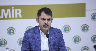 Son dakika: İzmir'in yaraları sarılıyor! Bakan Kurum'dan önemli açıklamalar