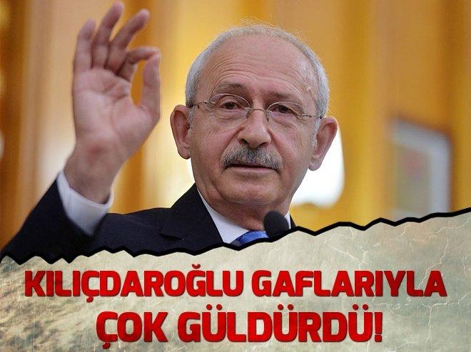 Kemal Kılıçdaroğlu gaflarıyla kahkaha tufanı