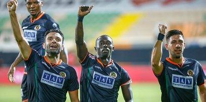 Antalyaspor'u 4-0 yenen Alanyaspor Ziraat Türkiye Kupası'nda finale yükseldi