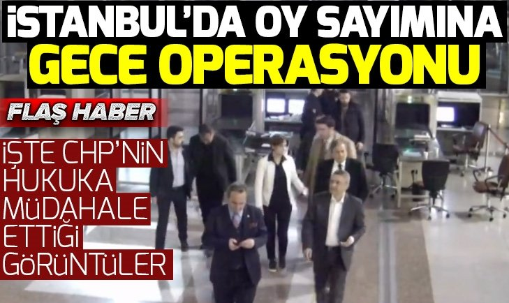 CHP İstanbul seçimlerinde hukuku böyle kararttı