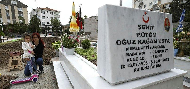 'EVLATLARIMIZIN RUHU BUGÜN HUZURA ERDİ'