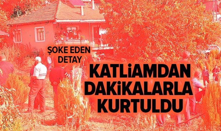 İZMİR'DEKİ KATLİAMDAN SADECE O KURTULDU!