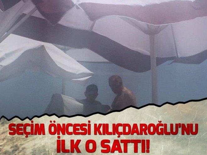 SEÇİM ÖNCESİ KILIÇDAROĞLU'NU İLK O SATTI!