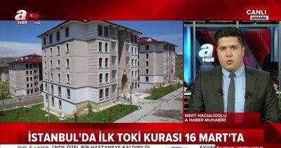 2020 TOKİ çekilişi ne zaman? TOKİ İzmir Karabağlar çekilişi ne zaman, saat kaçta?