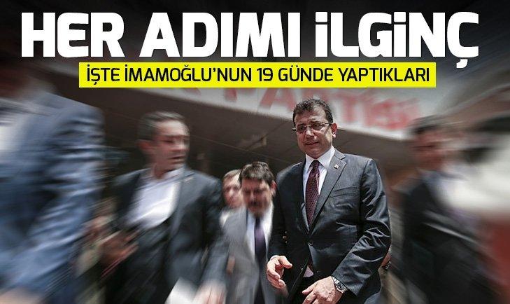 İstanbul'da Ekrem İmamoğlu'nun 19 günde yaptığı ilginç uygulamalar