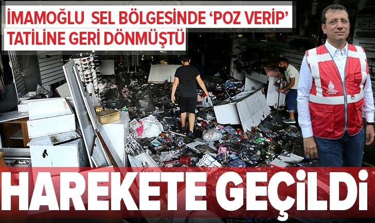 İSTANBUL VALİSİ'NDEN SELDEN ETKİLENEN ESNAFA MÜJDE