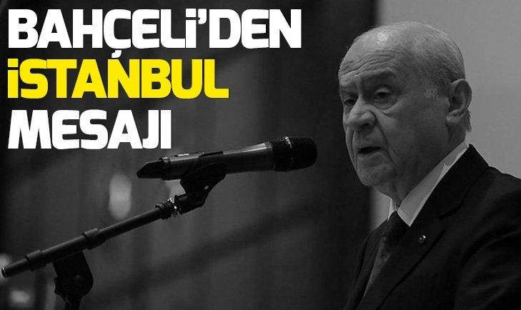 Son dakika: MHP lideri Bahçeli'den 23 Haziran mesajı
