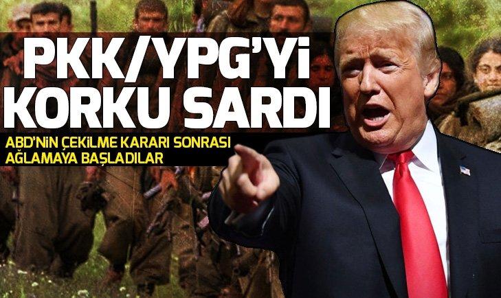PKK yandaşlarını Türk korkusu sardı