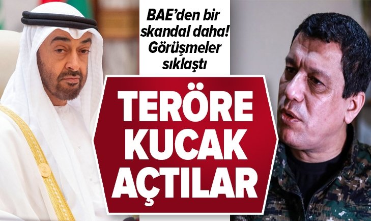 BAE'DEN BİR SKANDAL DAHA! 'MAZLUM KOBANİ' İLE GÖRÜŞTÜLER
