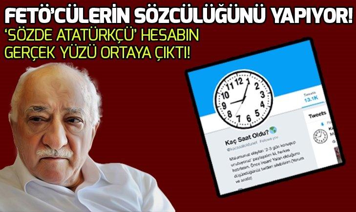 İŞTE FETÖ'CÜLERİN SOSYAL MEDYADAKİ SÖZCÜSÜ!