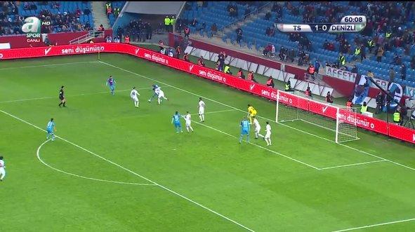 Trabzonspor - Denizlispor maçının 90 dakikası